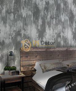 Giấy Dán Tường Giả Xi Măng Hoài Cổ 3D220